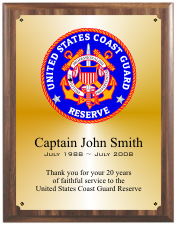 UNITED STATES COAST GUARD GROUP C PLAQUE