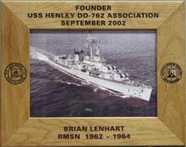 navy frame