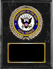 Navy Group A Plaque Style from Trophy Express
