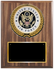 United States Air Force Plaques Group A Style from Trophy Express